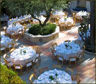 green parrot villa courtyard